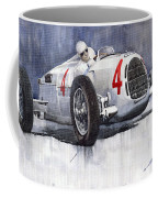 Auto Union C Type 1937 Monaco Gp Hans Stuck Coffee Mug