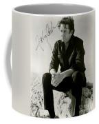 Autographed Cash Coffee Mug