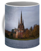 Autumn Lichfield Cathedral Coffee Mug
