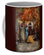 Autumn - People - A Walk Downtown  Coffee Mug