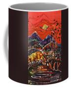 Autumn Adirondack Sunset Coffee Mug