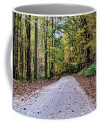 Autumn Along A Country Road 1 Coffee Mug