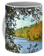 Autumn Along The New River - Bisset Park - Radford Virginia Coffee Mug