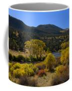 Autumn Along The Rio Grande Coffee Mug