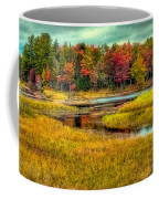 Autumn Along The River Coffee Mug