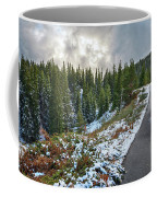 Autumn And Winter In One Coffee Mug