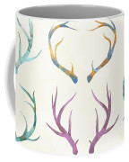 Autumn Antlers Coffee Mug