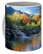 212m47-autumn At Cascade Springs  Coffee Mug