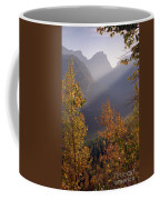 Autumn At Logan Pass Coffee Mug