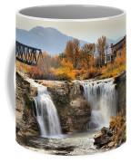 Autumn At Lundbreck Falls Provincial Park Coffee Mug