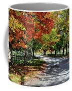 Autumn At Oatlands Lane Coffee Mug