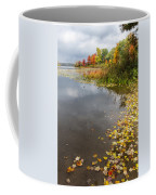 Autumn At The Lake In Nh Coffee Mug