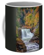Autumn At The Lower Falls Coffee Mug by Rick Berk