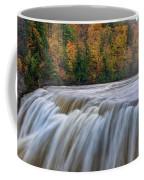 Autumn At The Middle Falls  Coffee Mug