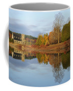 Autumn At The Old Stone Church Coffee Mug by Luke Moore