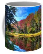 Autumn At The Pond Coffee Mug