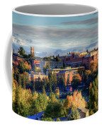 Autumn At Wsu Coffee Mug by David Patterson