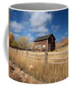 Autumn Barn Coffee Mug