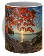 Autumn Bay Near Shovel Point Coffee Mug