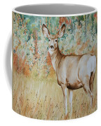 Autumn Beauty- Mule Deer Doe  Coffee Mug