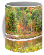 Autumn Beaver Pond Coffee Mug