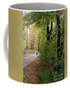 Autumn Bicycling Vertical One Coffee Mug