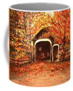 Autumn Bike Ride Coffee Mug