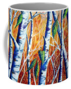 Autumn Birch Coffee Mug