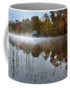 Autumn Boathouse Coffee Mug