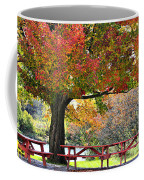 Autumn By The River On 105 Coffee Mug