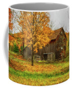 Autumn Catskill Barn Coffee Mug