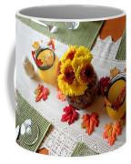 Autumn Centerpiece Coffee Mug