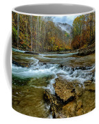 Autumn Cherry Falls Elk River Coffee Mug