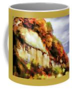 Autumn Cliffs On Way To Hannibal, Missouri Coffee Mug