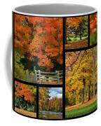 Autumn Collage Coffee Mug
