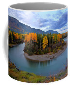 Autumn Colors Along Tanzilla River In Northern British Columbia Coffee Mug