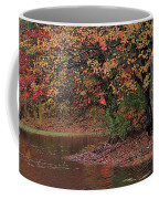 Autumn Colors By The Pond Coffee Mug