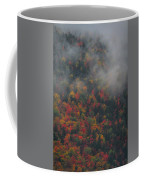 Autumn Colors In The Clouds Coffee Mug