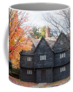 Autumn Comes To The Witch House Coffee Mug