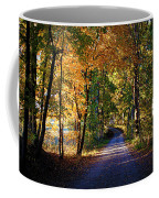 Autumn Country Lane Coffee Mug