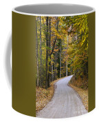 Autumn Country Road Coffee Mug