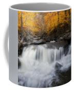 Autumn Falling Square Coffee Mug