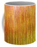 Autumn Fire Abstract Coffee Mug