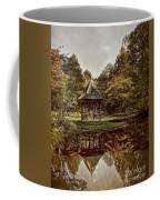 Autumn Gazebo Reflection Coffee Mug
