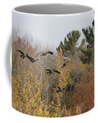 Autumn Geese Coffee Mug