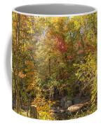 Autumn Glory - Unami Creek Sumneytown Pennsylvania Usa Coffee Mug
