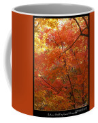 Autumn Gold Poster Coffee Mug