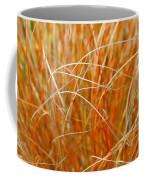 Autumn Grass Abstract Coffee Mug