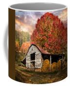 Autumn Hay Barn Coffee Mug