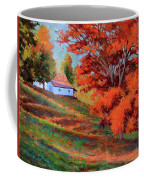 Autumn Hillside Coffee Mug